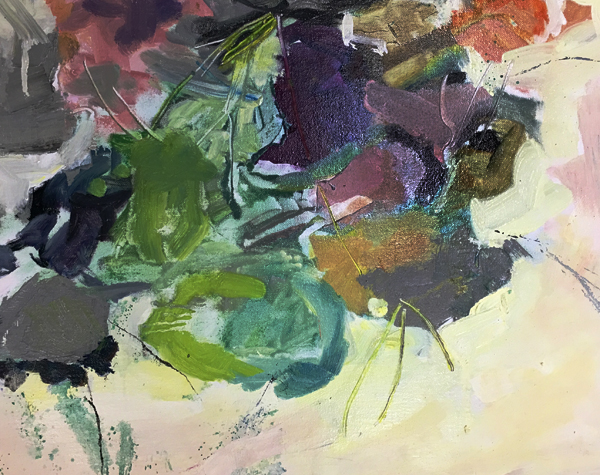untitled, oil on linen, Bobbi Kovner