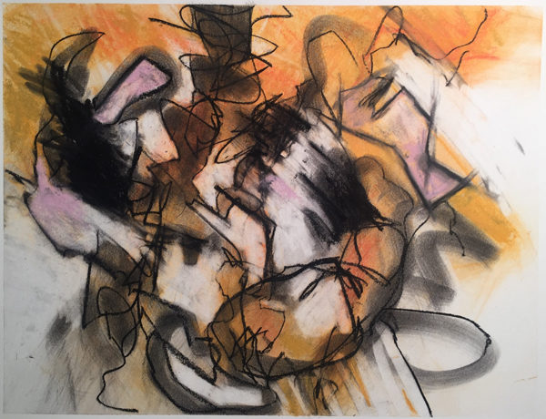Jonathan Rich: [Untitled work from The Fire Drawings]